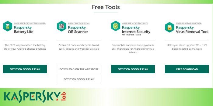 Kaspersky Free Tools