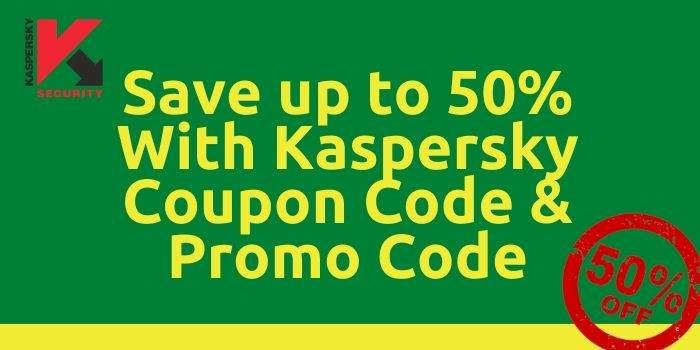 Kaspersky 50% off