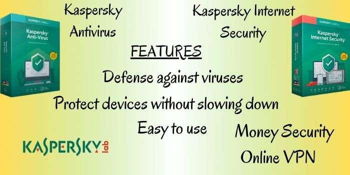 Kaspersky Antivirus & Internet Security Features