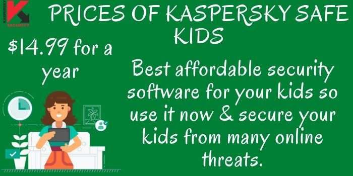 Kaspersky Safe Kids Prices