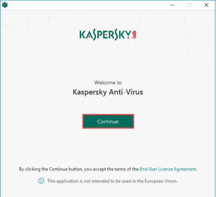 Kaspersky Install