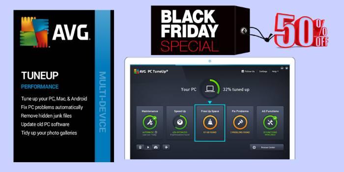 AVG TuneUp Black Friday Sale