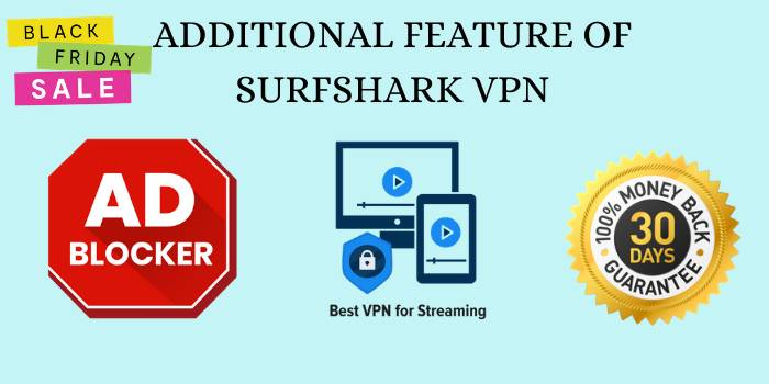 Additional Features Of SurfShark