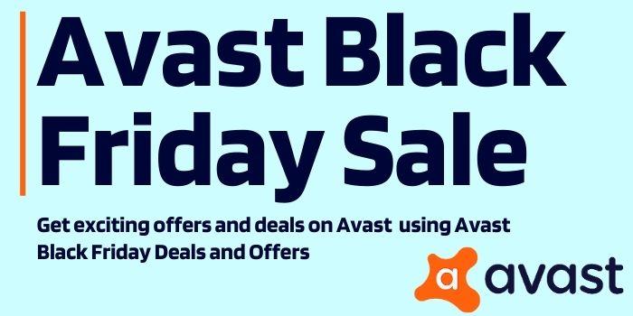 Avast black Friday sale