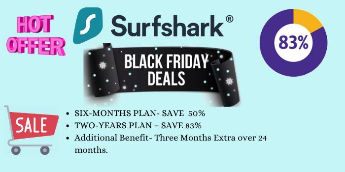 SurfShark VPN Black Friday Sale